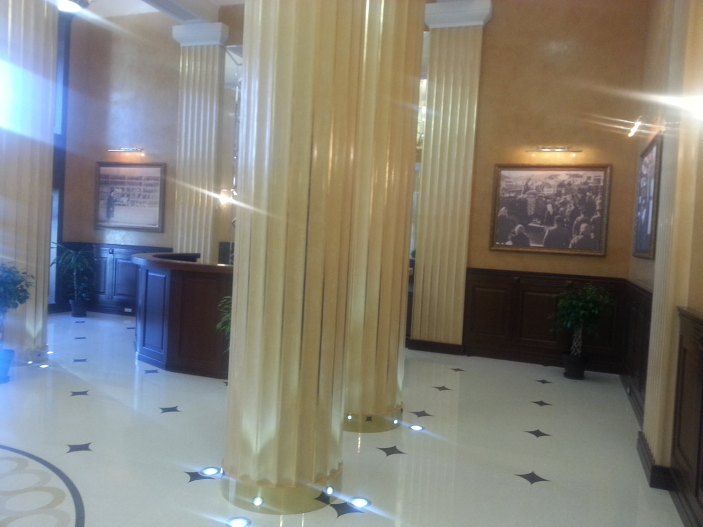 Светодиодная подсветка колонн