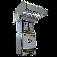 Гидравлический искрогаситель с зонтом ZGF-3 ;искрогаситель, зонт-гидрофильтр, зонт вытяжной
