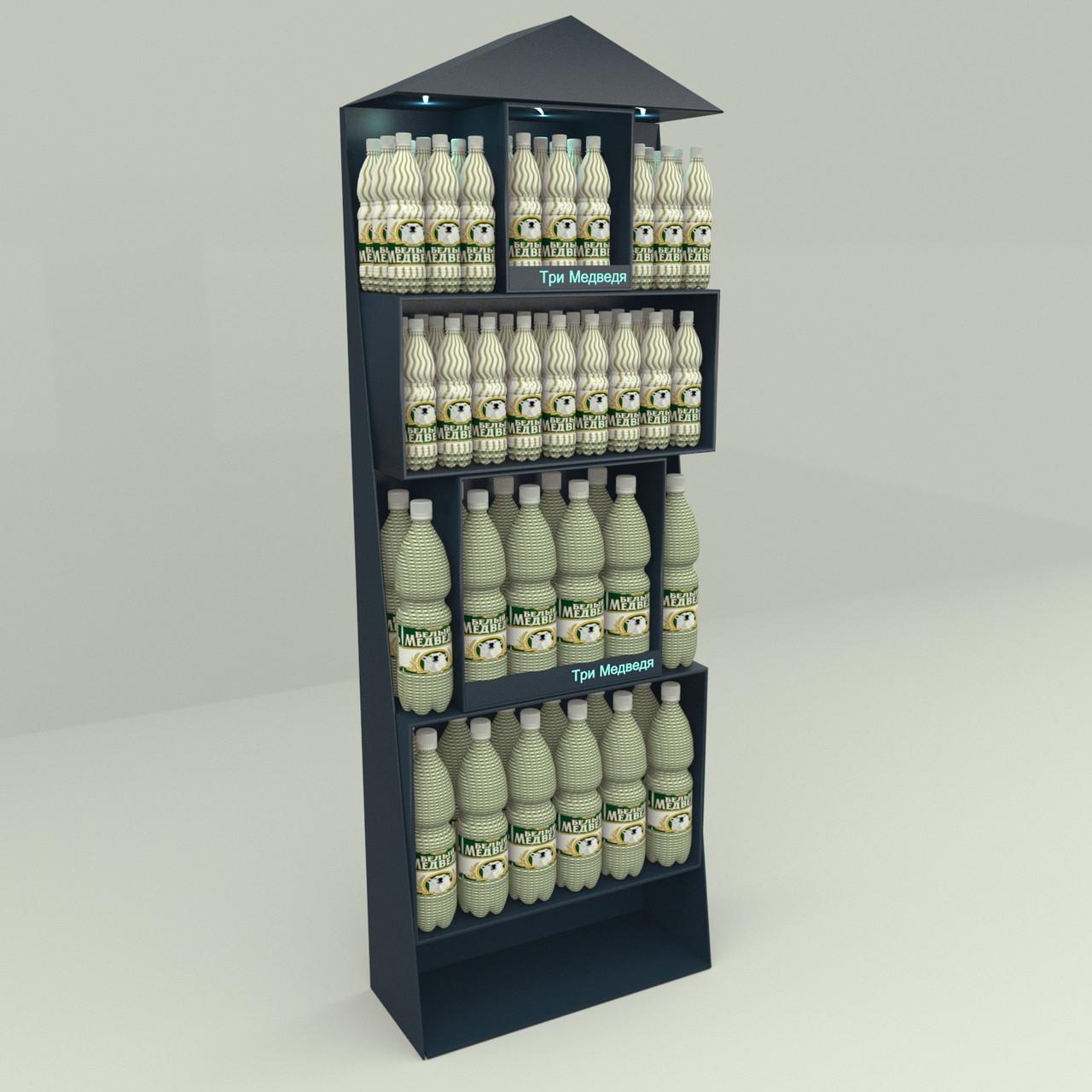 Рекламная стойка для пива и напитков