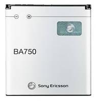 Аккумулятор Sony Ericsson BA750 оригинальный