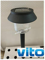 Садово-парковый светильник на солнечной батарее столбик Vito Soled больш.