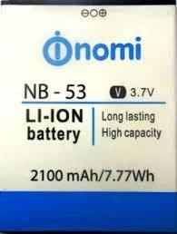 Аккумулятор для Nomi i502 Drive оригинальный, батарея NB-53, фото 2