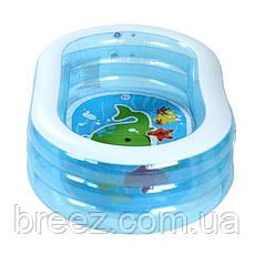 Детский надувной бассейн Intex 57482 Китенок 163 х 107 х 46 см, фото 2