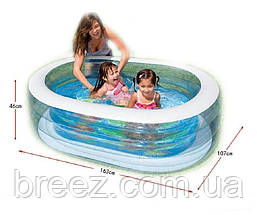 Детский надувной бассейн Intex 57482 Китенок 163 х 107 х 46 см, фото 3
