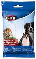 Салфетки Trixie Cosmetic Wipes для собак универсальные с алоэ вера, 10 шт