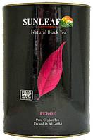 Чай черный SunLeaf Pekoe Крупный лист 75г