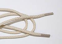 Шнурки круглые 4мм плотные, св.беж, фото 1