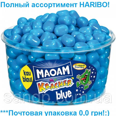 Желейные конфеты МаоаМ Голубой Крекер Харибо Haribo 1200гр.265шт., фото 2