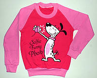 """Реглан """"Selfie funny photo"""" для девочек 8,9,10,11,12 лет 100% коттон"""