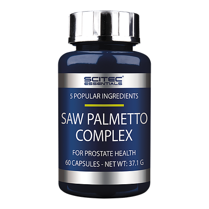 Saw Palmetto Complex Scitec Nutrition 60 caps, фото 2