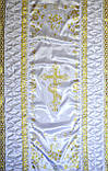 Ритуальне покривало троянда, фото 2