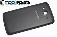 Задняя панель корпуса (крышка) для  Samsung Galaxy Grand 2 Duos G7102   G7106 (Качество ААА) (Черная)
