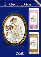 """Набор для вышивания """"Элегантная невеста"""" DOME 70101"""
