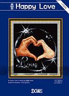 """Набор для вышивания """"Щасливая любовь"""" DOME 110220"""