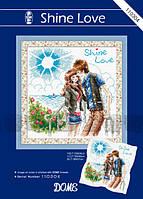 """Набор для вышивания """"Сияющая любовь"""" DOME 110304"""
