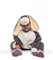 Карнавальный костюм Зайчик-малыш серый