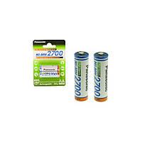 Аккумулятор Panasonic High Capacity AA 2700 mAh 2BP Ni-MH (BK-3HGAE/2BE)