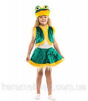 Карнавальный костюм Лягушки для девочки мех