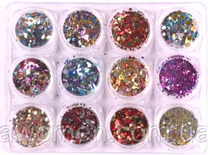 Набор камифубуки блестящие 12 штук