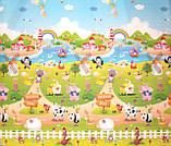 """Детский развивающий коврик """"Доман/ферма"""", 1.5х1,8 м, фото 5"""