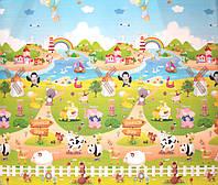 """Детский развивающий коврик """"Весёлая ферма"""", 1.5х1,8 м"""