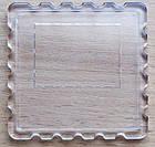 """Акриловые рамки для магнитов """"Марка"""" 65х65 мм, под фото 57х57 мм, фото 2"""