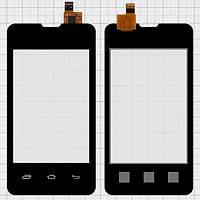 Сенсор (тачскрин) для Prestigio PAP3350 DUO MultiPhone/Explay A351 черный