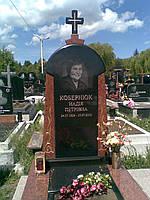 Гранитный памятник с крестом. Бесплатная доставка по Украине