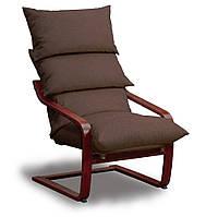 Супер комфорт кресло Коричневый, Махонь