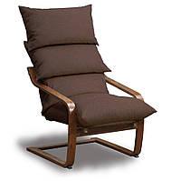 Супер комфорт кресло Коричневый, Орех