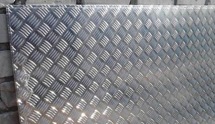 Лист алюминиевый рифленый 3 мм 1050 (аналог АД0), фото 2