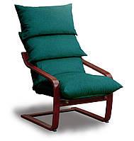 Супер комфорт кресло Голубой, Махонь