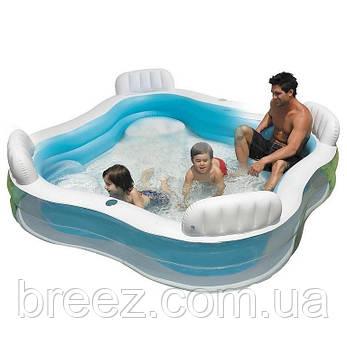 Детский надувной бассейн Intex 56475 229 х 229 х 66 см, фото 2