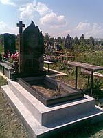 Доставка и установка памятников и надгробий из гранита и мрамора