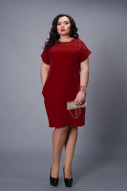 Платье больших размеров 502