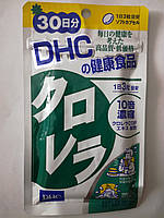 Хлорела - виводить солі важких металів 10 - кратний концентрат хлорели ДНС Японія 90 капсул, фото 1
