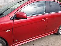 Дверь передняя левая Mitsubishi Lancer X, 2008, 5700A481