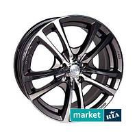 Литые легкосплавные диски Racing Wheels H-346 GM/FP