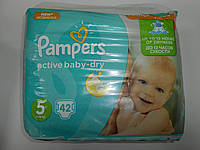Pampers aktiv-dru №5 (11-18 кг.)