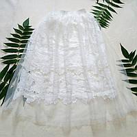 Пышная фатиноваяюбка юбка с кружевом