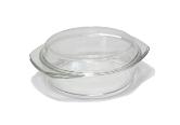 Кастрюля стеклянная жаропрочная 1,5л