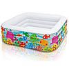 Детский надувной бассейн Intex 57471 Аквариум 159 х 159 х 50 см