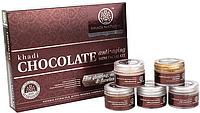 Kхади. Подарочный набор для лица. Шоколад. Khadi Chocolate, anti-aging. Mini Facial KIT, 75г.