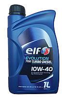 Elf Evolution 700 Turbo Diesel 10w40 - моторное масло полусинтетика - 1 литр