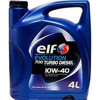 Elf Evolution 700 Turbo Diesel 10w40 - моторное масло полусинтетика - 4 литра