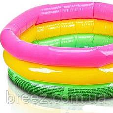 Детский надувной бассейн Intex 57412 Радужный 114 х 25 см, фото 3