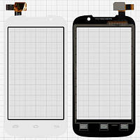 Сенсор (тачскрин) для Prestigio PAP3400 DUO MultiPhone белый