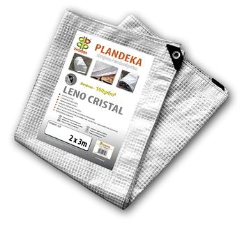 Тент прозрачный армированный LENO CRISTAL 100 гр/м² размер 3 х 4м