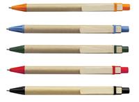 Эко-ручки из картона под нанесение логотипа