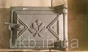 Сажетруска чугунная ВЫШИВАНКА 160*120 мм, фото 2